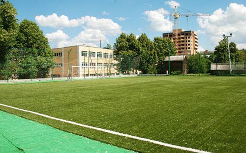Спортивный объект школы №3 Бетон Можайск